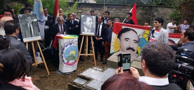 PAK li Parisê beşdarî seremoniya salvegera şehîdkirina Dr. Qasimlo bû