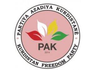 """PAK: """"Ez kurd a, kurdî qisey kena"""""""