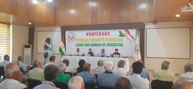 PAK li Amedê konferansa''Peymana Lozanê û Kurdistan'' li dar xist
