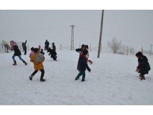 Li 7 bajarên Bakurê Kurdistanê ji ber berfê perwerde rawesta