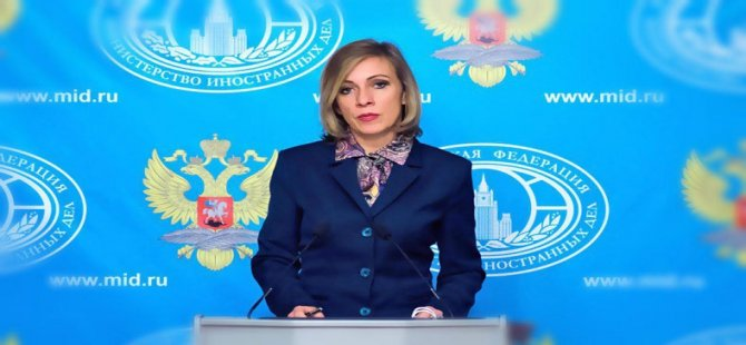 Zaxarova: Peymanên me bi Tirkiye re, heta hetayê berdewam nabin!
