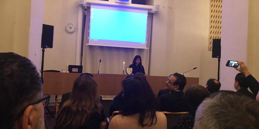 Li Parlamentoya Swêdê bîranîna qetlîama Helepçeyê