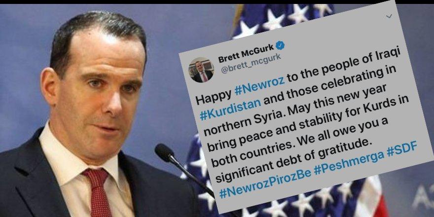 McGurk Newroz pîroz kir: Em hemû deyindarê gelê kurd in