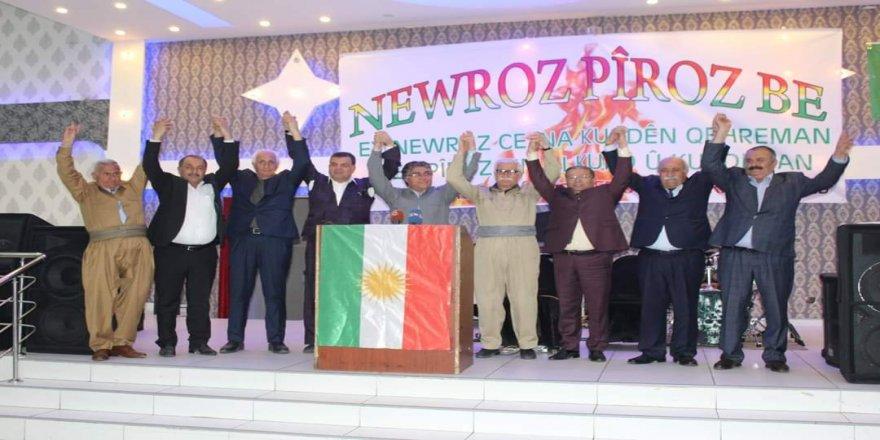 Tifaqa Welatperwer û Demokrat bi coşeke mezin Newroz pîroz kir