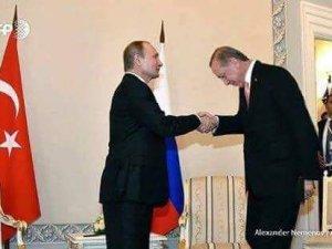 Putîn weha pêşwazî li Erdoganî kir