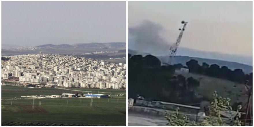 Tirkîye li Efrînê bircên telefonê hildiweşîne