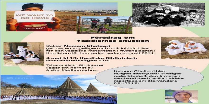 Föredrag om Yezidiernas Situation