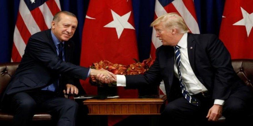 Erdogan û Trumpî pêwendîyeke telefonî danîn