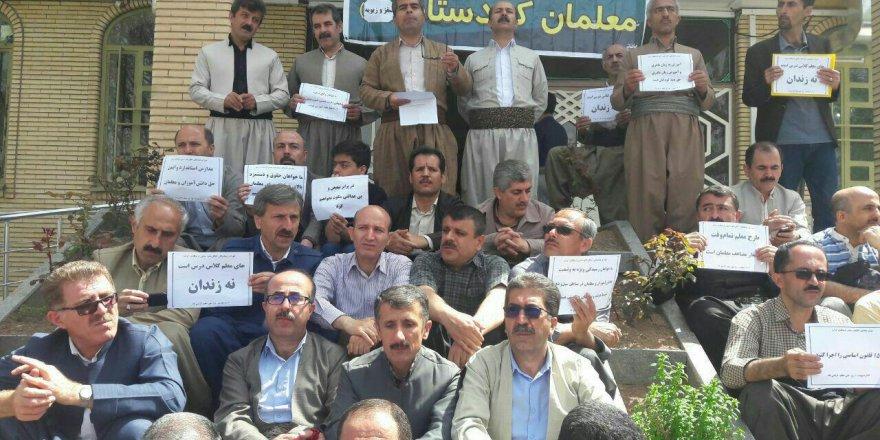 Mamosteyên Rojhilatê Kurdistanê ketine grewê