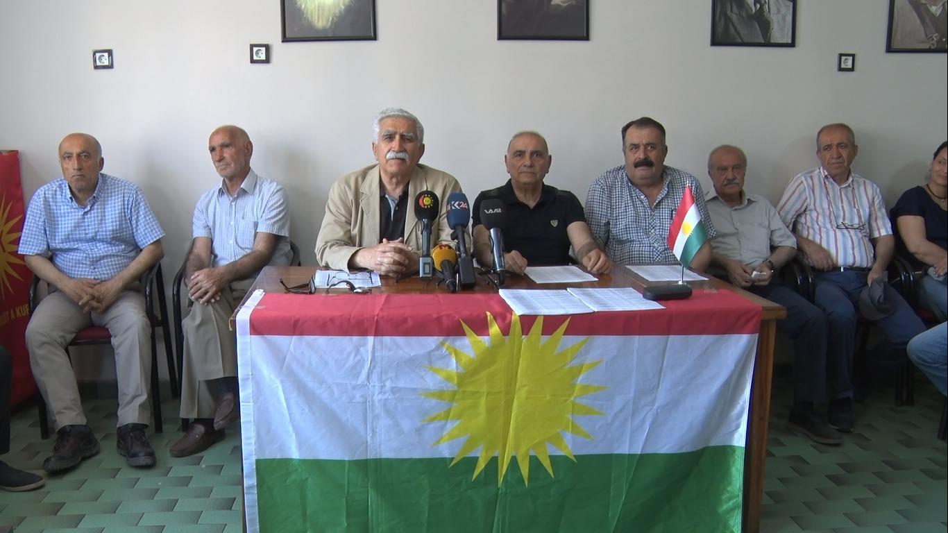 PAK û PSK: Li hemberê daxistina partîyên Kurdistanê dengê xwe bilind bike
