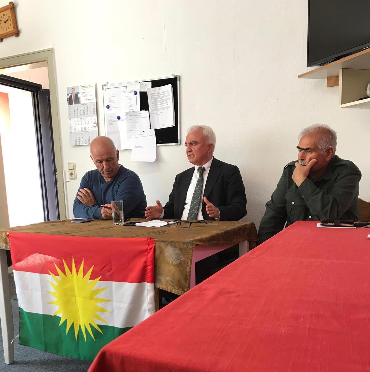 asim Ergün: Tifaqa di navbera partiyên Kurdistanî de girîng e