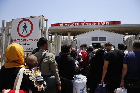 Sê hezar penaber bo cejnê vegerîyane Sûrîyê