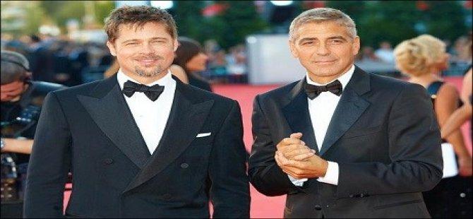 Brad Pitt û Clooney tên Kurdistanê