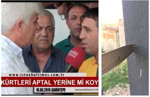 Kurdê ku li ser hilbijartinê axivîbû hatîye tehdîdkirin !