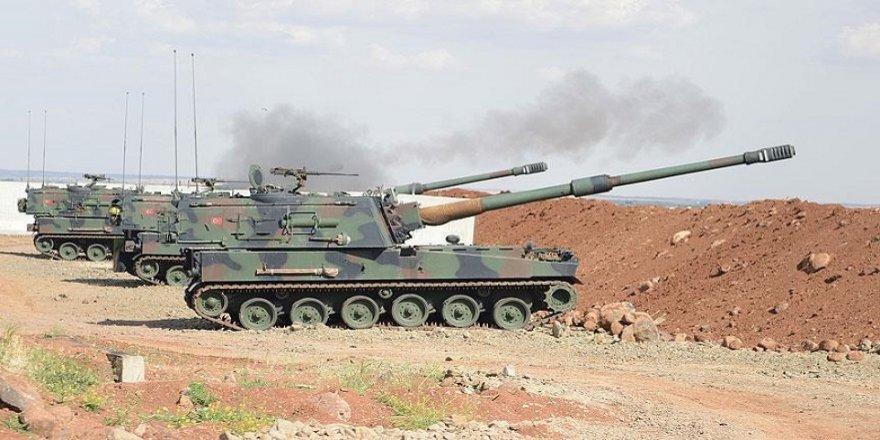 Topxaneyê Tirkiya cayê ke destê YPG de yê da bombeyan ver