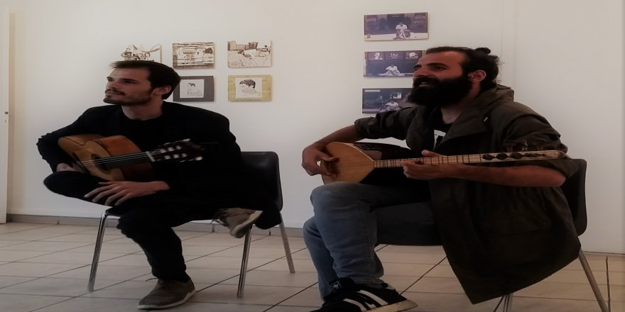 Li Enstîtuya kurdî ya Parîsê, pêșange û konser