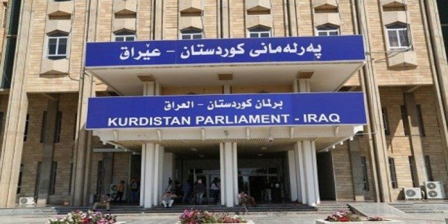 Parlementoya Kurdistanê roja Çarşemê dicive