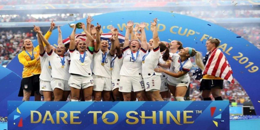 Amerîka di Kupaya Cîhanê ya Futbolê ya Jinan de bû Şampîyon