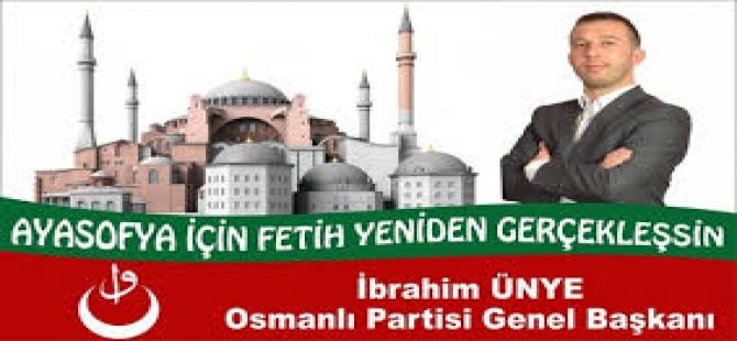Partîyeka bi navê 'Osmanî' li Tirkiyê hat damezirandin