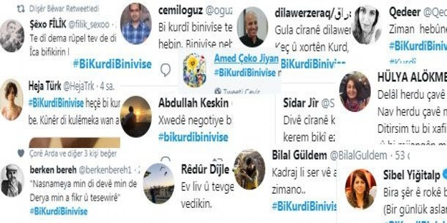 10 hezar twîtt ji bo Zimanê Kurdî!