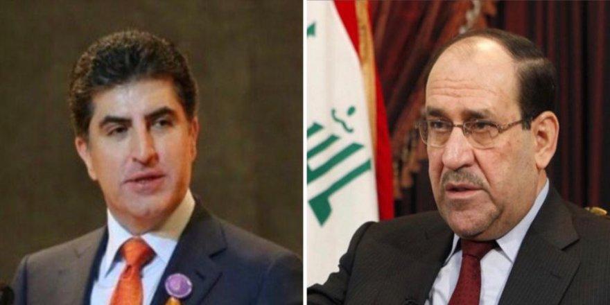 Nêçîrvan Barzanî pîrozbahî li Nûrî Malikî kir!