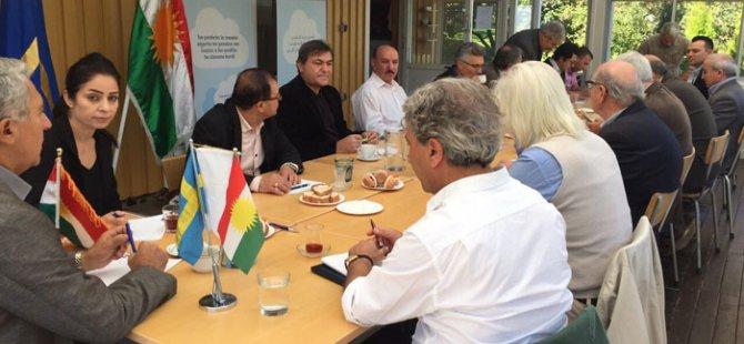 Ji Kurdên Swêdê tevkarîyeka berfireh