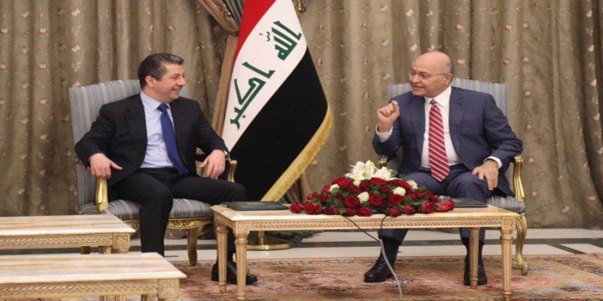 Mesrûr Barzanî bi Serokomarê Iraqê re dicive