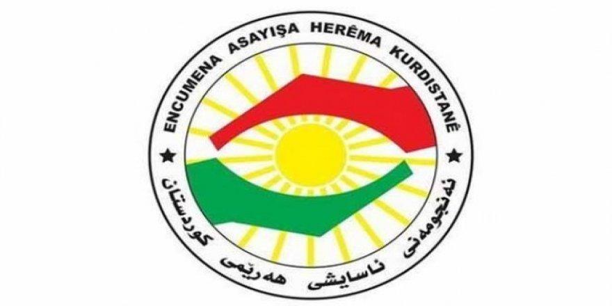 Dezgehên ewlekarî yên Herêma Kurdistanê daxwaza agahdariyê ji welatiyan xwest!