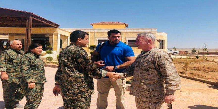Heyetêka Artêşa Amerîka Rojavayê Kurdistanî ziyaret kerd