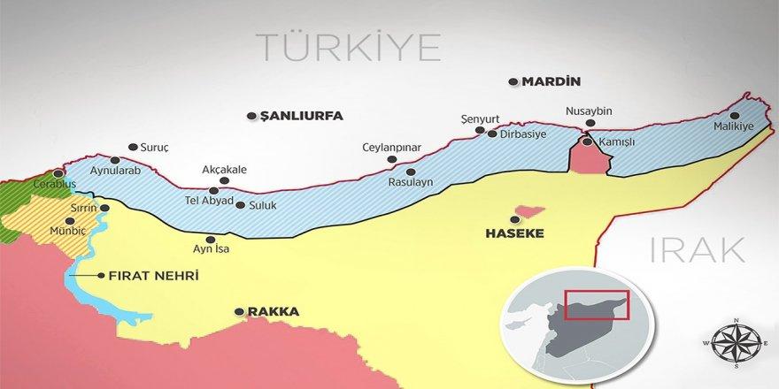 """Qesta Tirkiyê ji """"herêma ewle"""" petrol e, ne teror e!"""