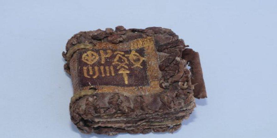Li Amedê pirtûkeke bi zêr hatiye nivîsandin hat dîtin