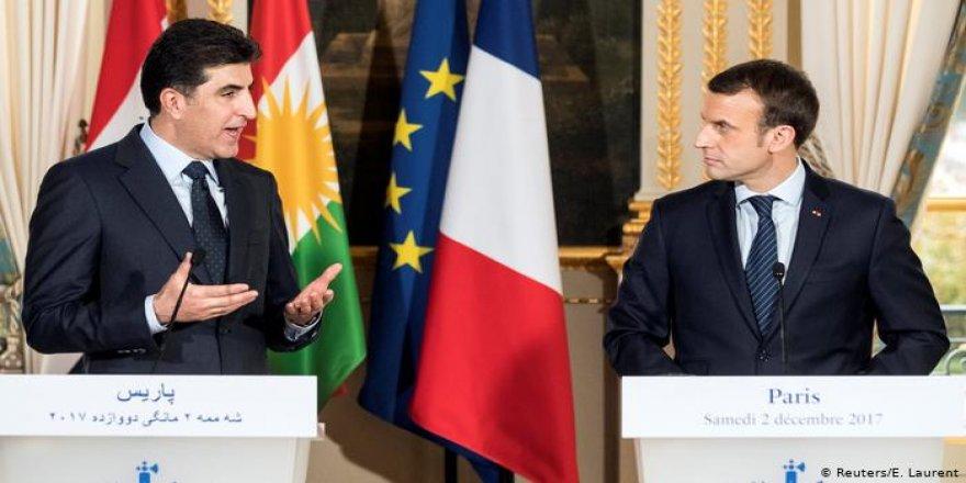 Serekomarê Fransa Macron peynîya serre de Herêma Kurdistanî ziyaret keno