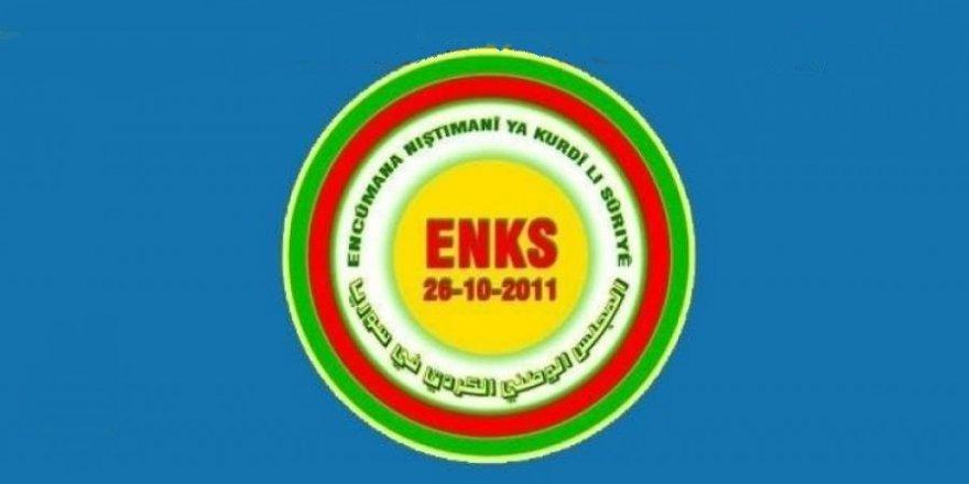 ENKS, Projeya xwe ya Rojavayê Kurdistanê digihîne dewlet û platformên navneteweyî