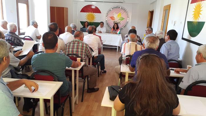 Meclîsa PAKê: ''Em bangî cîhanê dikin; êdî hawara azadîyê ya milletê kurd bibihîzin''