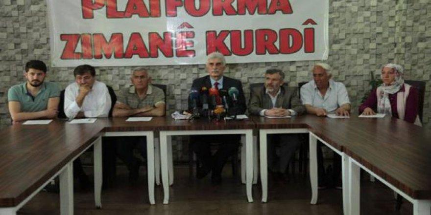 Platforma Zimanê Kurdî li ser qedexekirina kurdî daxuyanî da