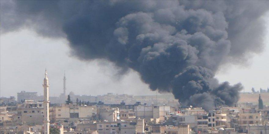 Idlib herî kêm 540 caran hatiye bombebarankirin