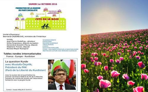 Serokê Giştî yê PAKê li Fransayê Beşdarî  ''Cejna Gulan'' dibe