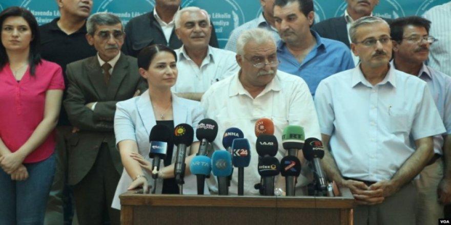Partiyên Rojavayê Kurdistanê: Gefên Tirkîyê DAIŞê bihêztir dike