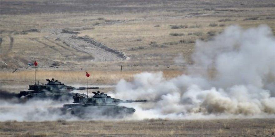 Tirkîyê bombebarana Rojavayê Kurdistanê dest pê kir