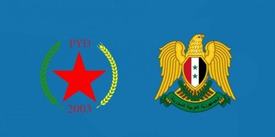Şandeka PYDê bi berpirsên rêjîma Sûrîyê re hevdîtin kir