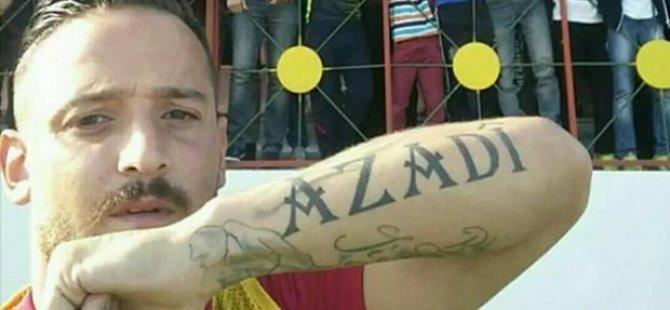Ji bo fotbolîstê Kurd Denîz Nakî 5 sal ceza