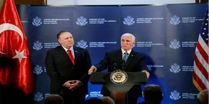 Amerîka û Tirkîyê derbarê agirbestê li Rojava li hev kir