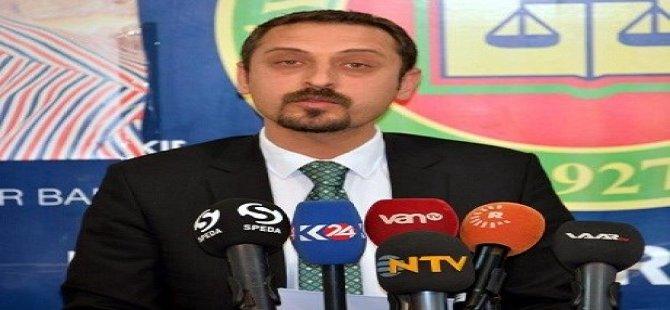 Av. Ahmed Ozmen bû serokê Baroya Amedê