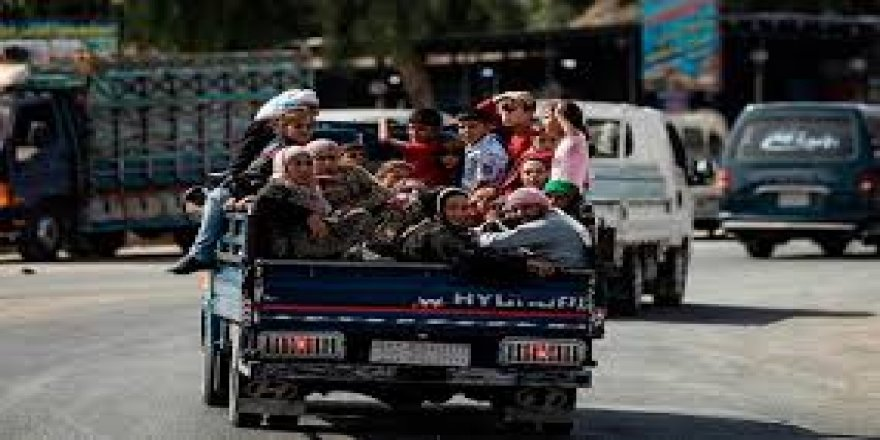Bi se hezaran kesî Rojavayê Kurdistanî ra koçber bîyî