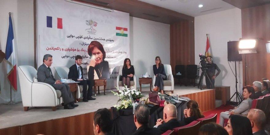 """Li Hewlêrê merasimek bo bibîranîna dost û """"dayîka kurdan"""" hat lidarxistin"""