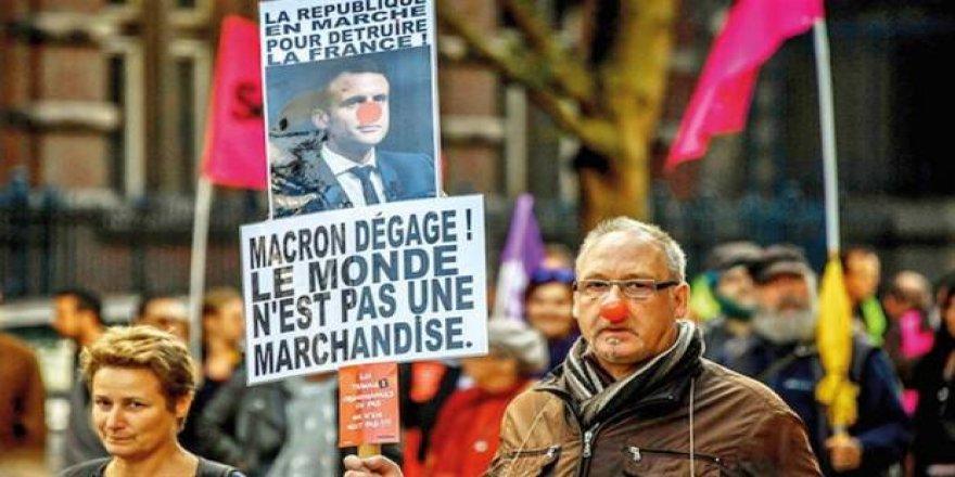 Li Fransa greva giştî ya herî mezin di dîroka wî welatî de destpê kir