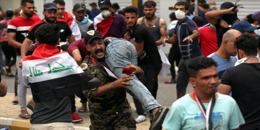 NY: Protestoyanê Iraqî de 424 kesî amê kiştene