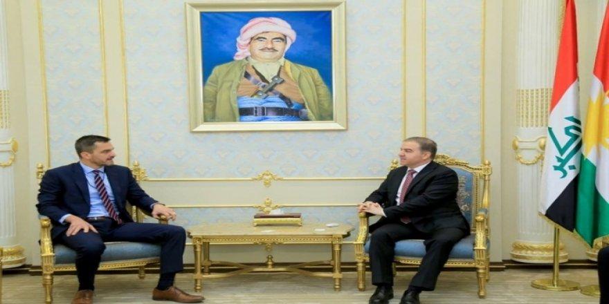 Konsolxaneya Amerîka li herêma Kurdistanê keyfxweşîya xwe ji bo projeyasaya çaksazîyê nîşan da