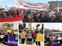 """""""li gelek derên cîhanê û li her çar perçeyên Kurdistanê jin tuşî êrîş, tundî û qetlîaman dibin"""""""