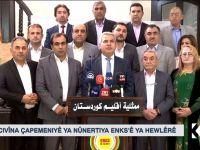 ENKS him PYD/YPG him DYAyê rexne kir!